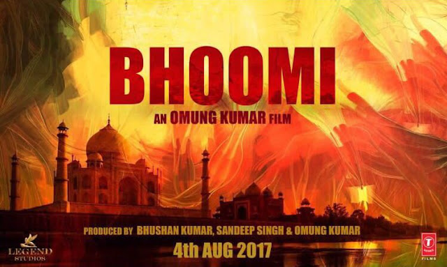 Bhoomi , Bhoomi Poster, Bhoomi First Look, Bhoomi Sanjay Dutt
