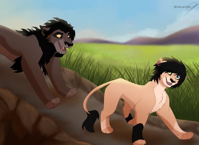Król Lew: Historia Nieznana - Luka i Nuka
