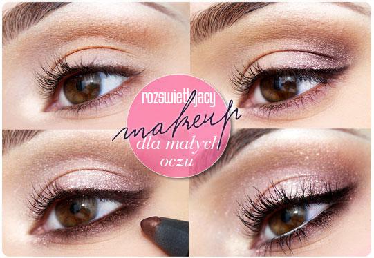 Alina Rose Blog Kosmetyczny Makijaż Rozświetlający Dla Małych Oczu
