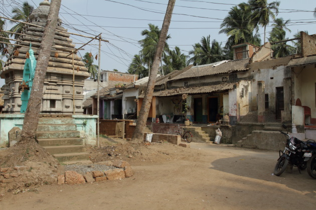 The small village of Raghurajpur, Odisha