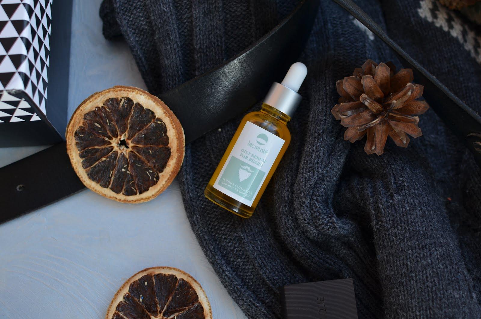 Lac Sante  Oily serum for beard Масло для усов и бороды