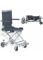 Ultra Lightweight Folding Transit Wheelchair