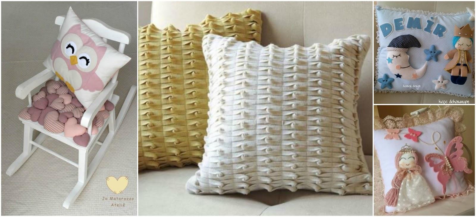 13 hermosos cojines decorativos para hacerlos en casa mimundomanual - Hacer cojines de punto ...
