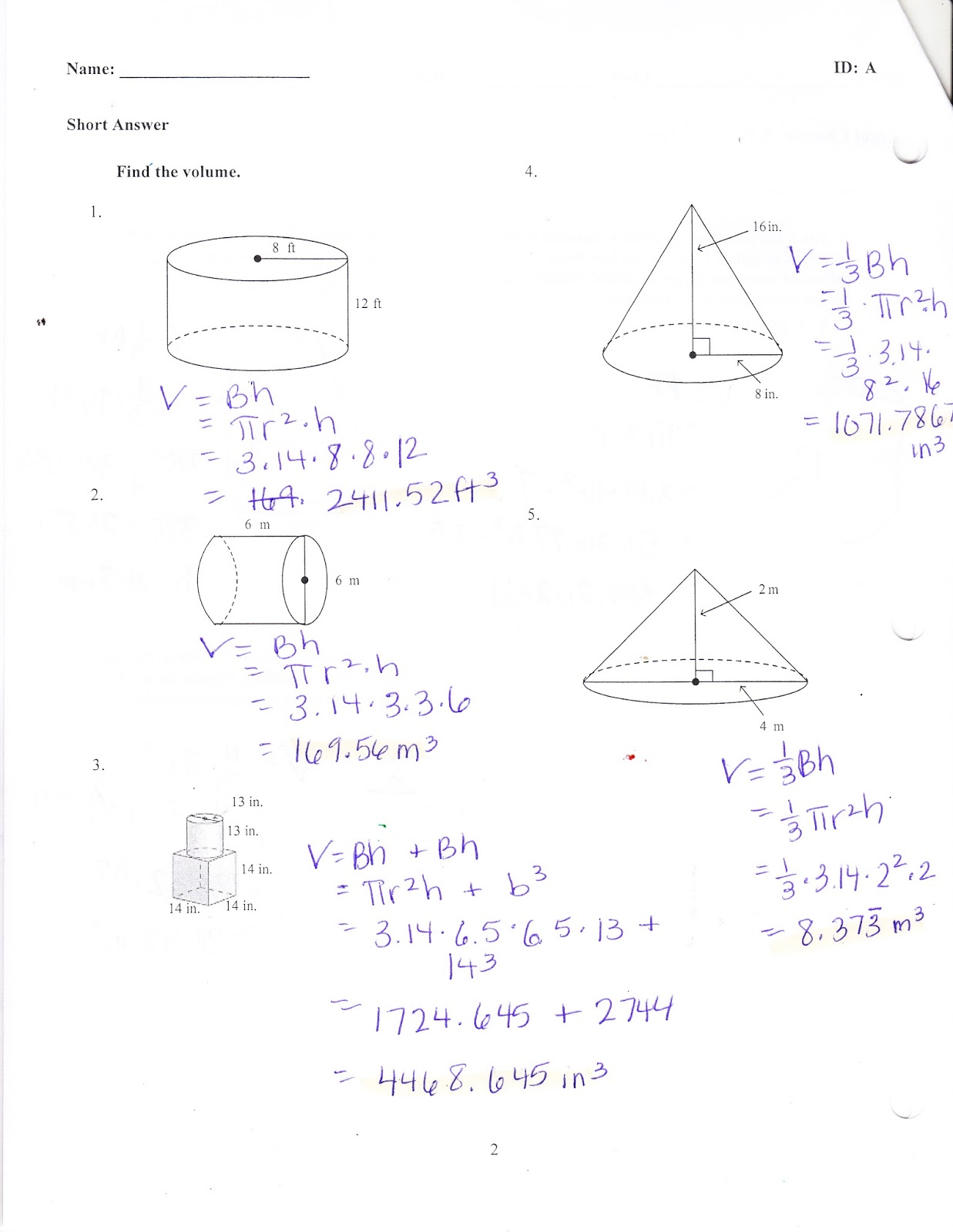 Ms. Jean's ACCEL 7 Blog: Chapter 8 Practice Test Answers