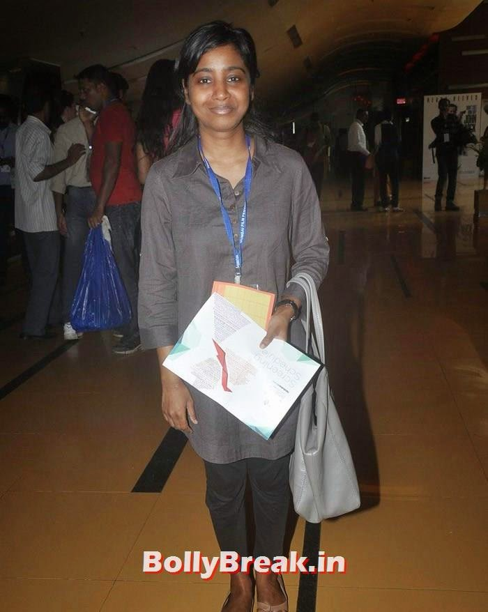 Shilpa Rao, Photos from Opening Ceremony of MAMI 2014