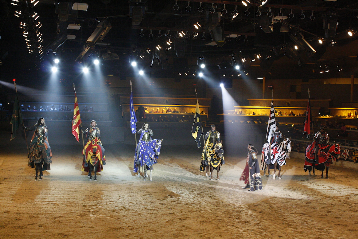 Excalibur's Tournament of Kings Dinner & Show features jousting, dancing, singing and a feast fit for a king. Don't miss this Medieval fare. Rates from $70 before fees/taxes and discount/5(17).