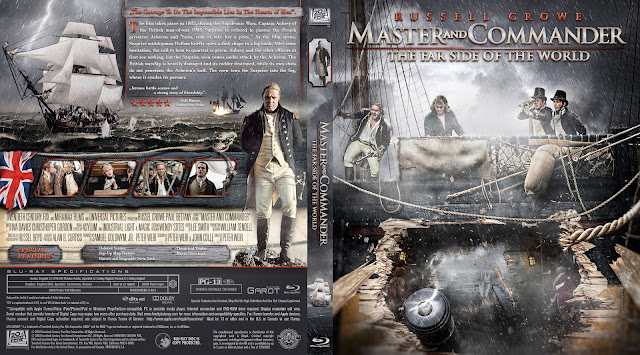 Master and Commander: The Far Side of the World Bluray Cover