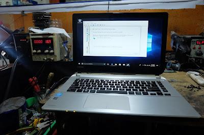 Service Laptop Toshiba E45 Mati Total