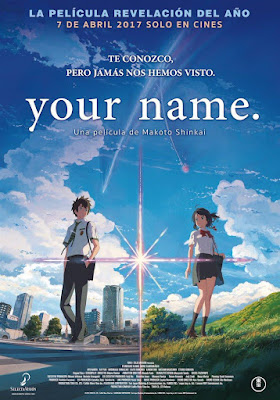 Your Name 2016 DVD R2 PAL Spanish