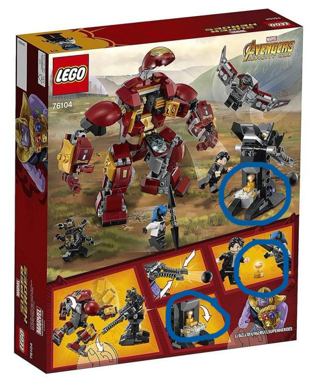 Michael Offutt: LOL the Lego Infinity War set just spoiled where the ...