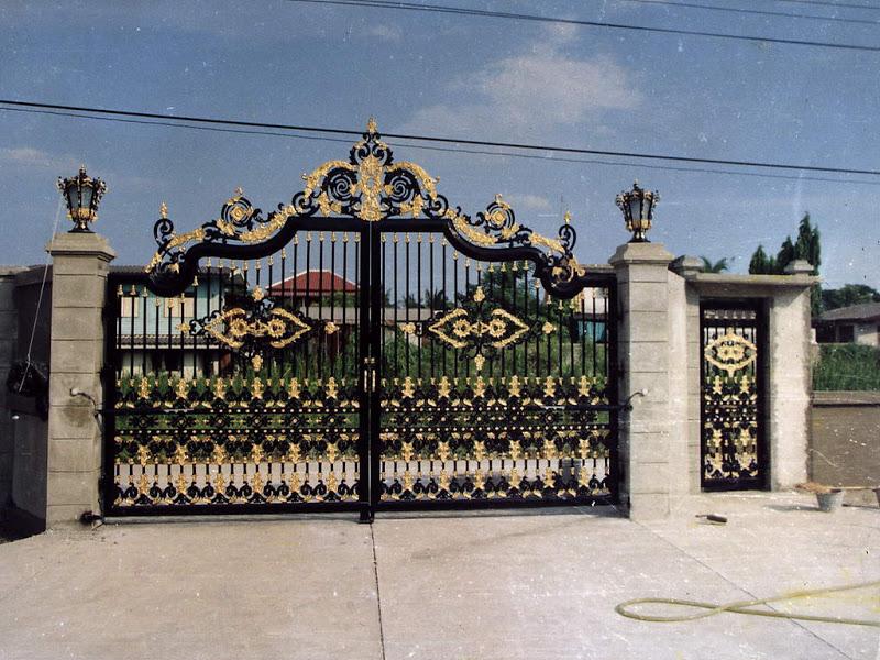 Iron gates design gallery - KERALA HOME DEZIGN on Iron Get Design  id=11233
