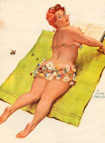 Дуэйн Брайерс (Duane Bryers) — Толстушка Хильда, Дуэйн Брайерс, Duane Bryers, толстушка Хильда, Хильда, толстушки, пин-ап, рисунки, толстушки в рисунках, художники, девушки пин-ап, веселая толстушка, женщины-толстушки, юмор, юмор про толстушек, девушки, женщины, дача, женщины на даче, толстушка на отдыхе,