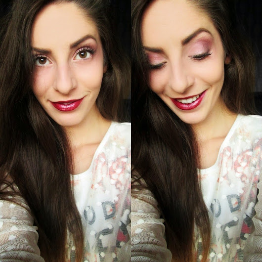 Everyday Fall Make Up - Dark lips!