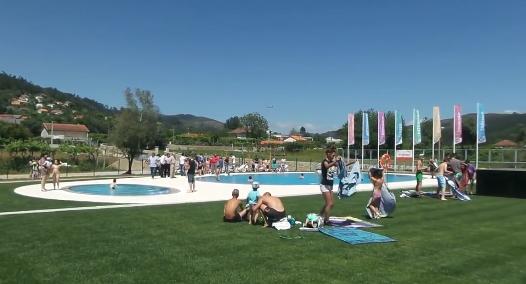 J se encontra aberta ao p blico da piscina municipal ao for Piscina municipal oleiros