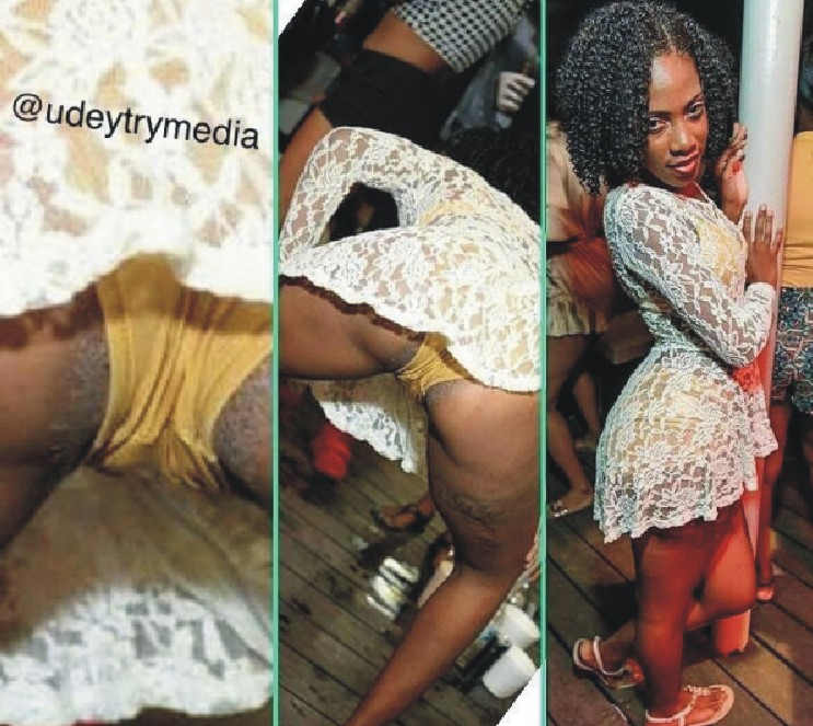 omg see slay queen wey don rotten o   this is a graphic