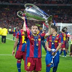 DP Iniesta Liga Champions