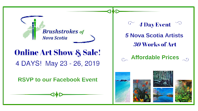Brushstrokes of Nova Scotia Online Art Show and Sale