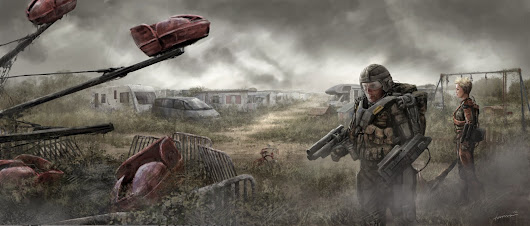 More concept art from edge of Tomorrow