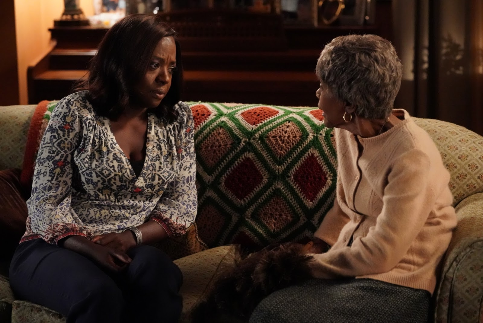 Fotografía de Viola Davis y Cicely Tyson en 'How to Get Away with Murder'