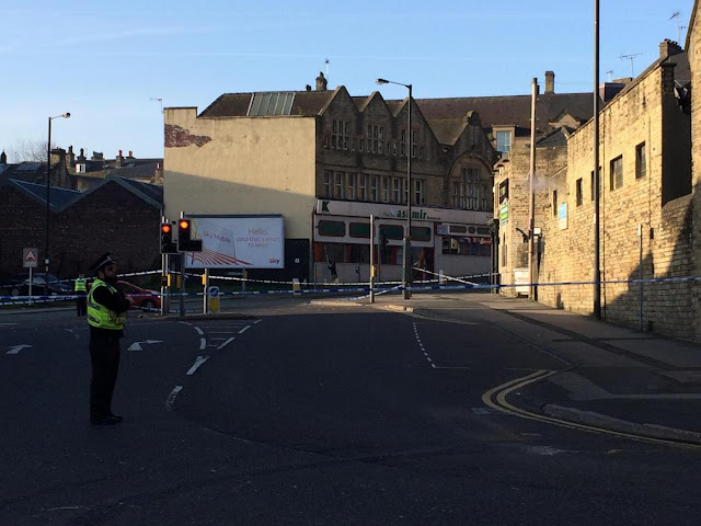 Chester Street in Bradford city centre closed due to police cordon