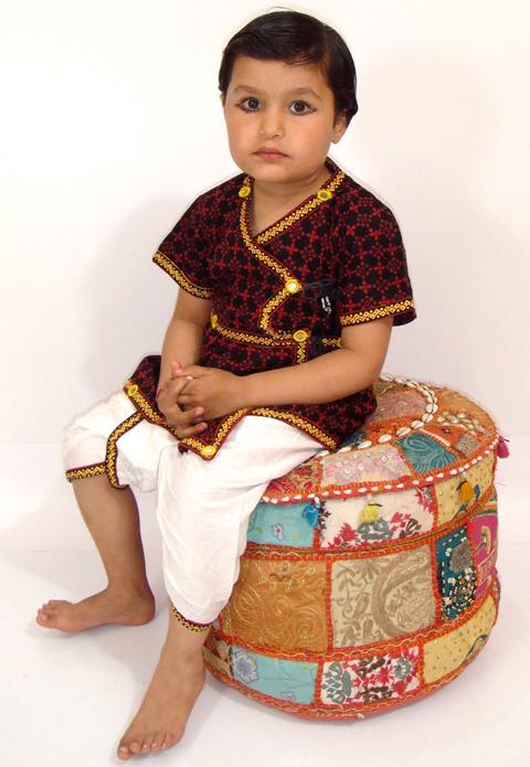 baju india anak laki