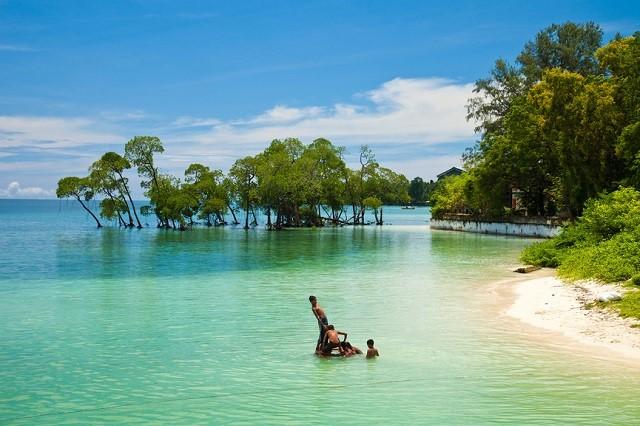 Great Nicobar Island — the largest island of the Nicobar Islands