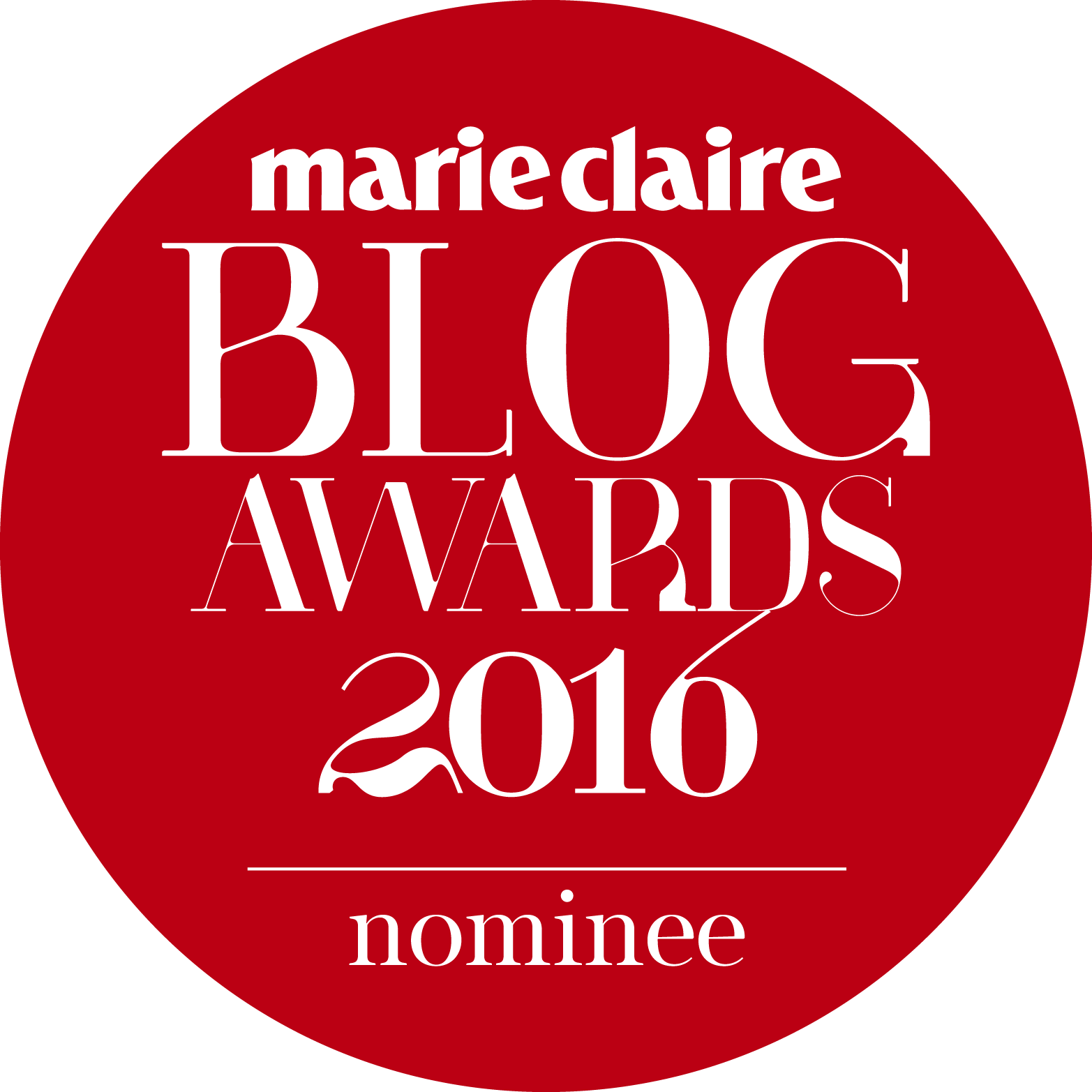 Marie Claire Blog Awards 2016