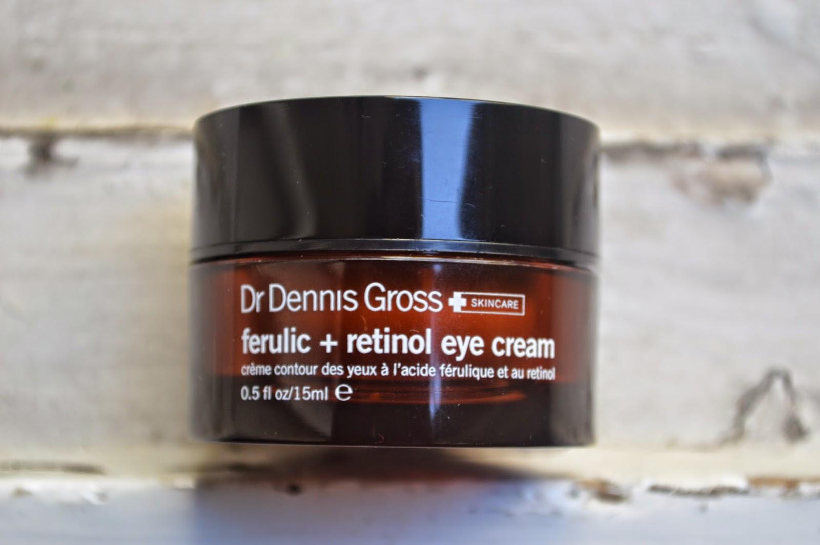 Dr Dennis Gross Ferulic Retinol Eye Cream Caroline Hirons