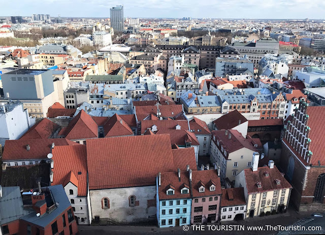 Konventhof, rooftops, Kalēju iela, Riga, Latvia the touristin