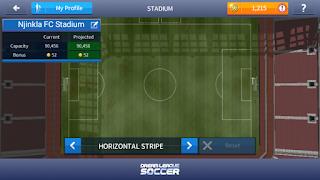Cara membuat stadion dls dengan kapasitas maksimal.