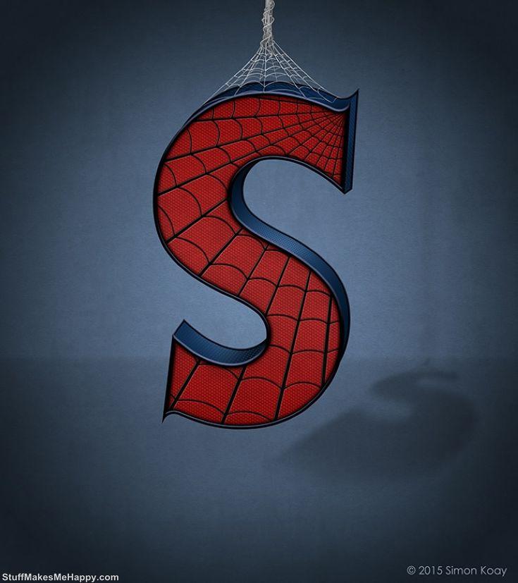 S - Spider Man