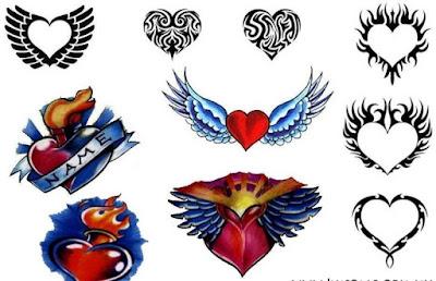 Significado de tatuaje de corazones