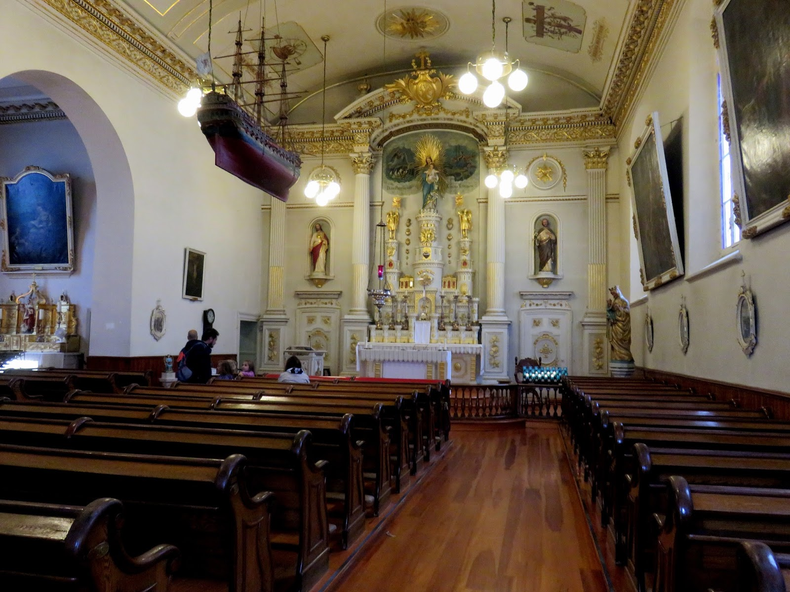 The marmelade gypsy primary blog la belle quebec the for Church mural restoration