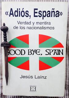 Portada del libro Adiós, España, de Jesús Lainz