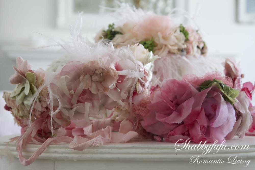 vintage flower crown