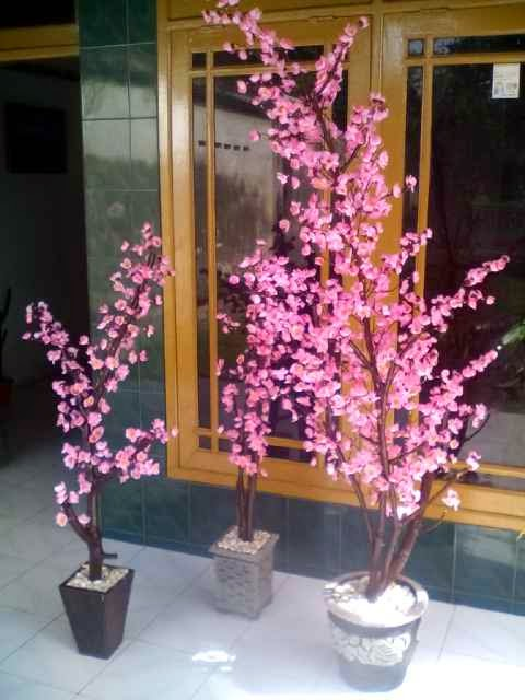 Jual Bunga Plastik Sidoarjo. Jual Pohon Sakura Hias Dekorasi ... 61e7480bf6