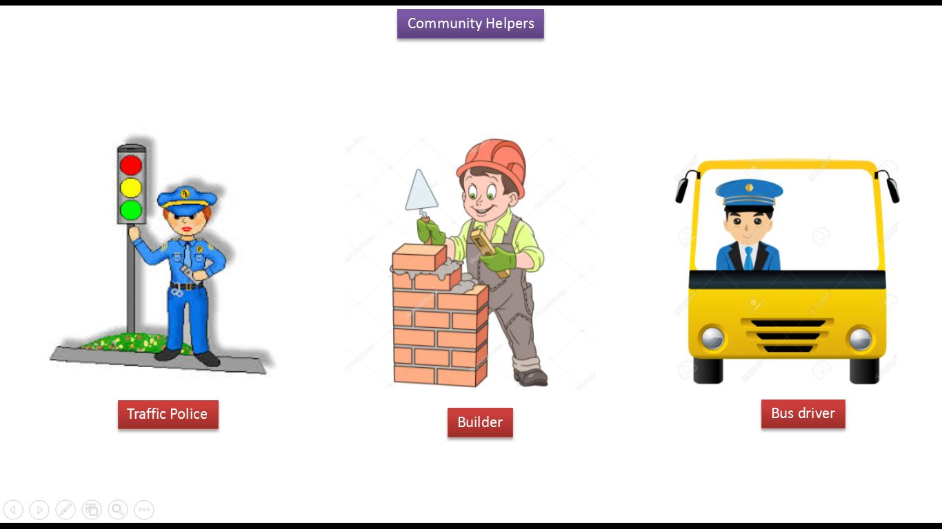 JAVA EE: Kids: Community helpers V8