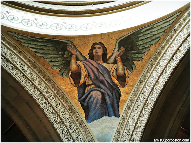 Mosaico Ángel Interior Stanford Memorial Church