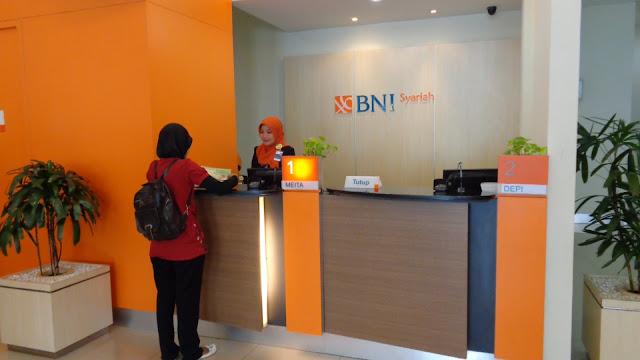 Lowngan Kerja Terbaru PT Bank BNI Syariah Bulan Juli 2018, Posisi : Frontliner, Marketing, dan Back Office Untuk Wilayah Bandung