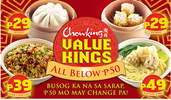 Food Delivery Collection: Chowking Delivery