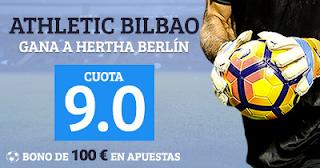 Paston Megacuota Europa League Hertha vs Athletic 14 septiembre
