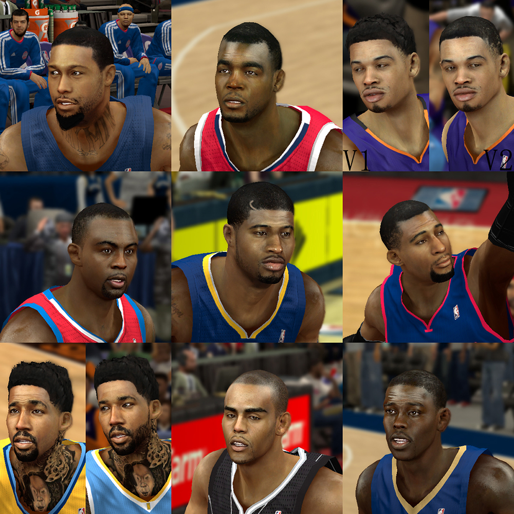 NBA 2K14 Mod Face Update Pack #3