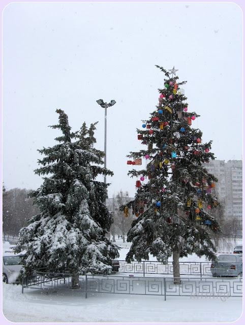 харьков украина зима снег замело