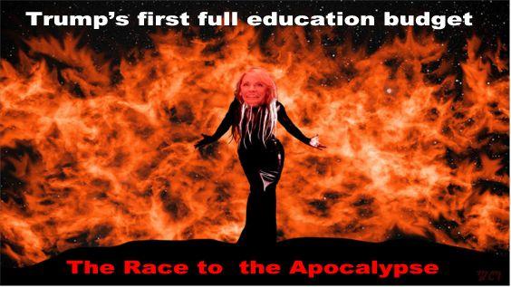 Image result for big education ape devos budget