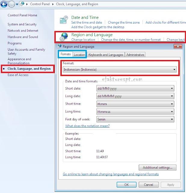 eSPT PPh 21 error Saat Registrasi