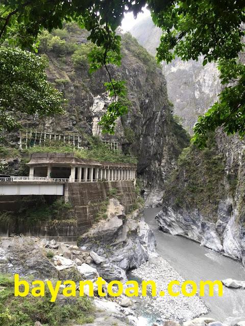 Công viên quốc gia Taroko ở TaiWan - Đài Loan