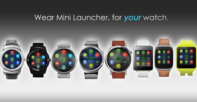 A new App Launcher android wear apps