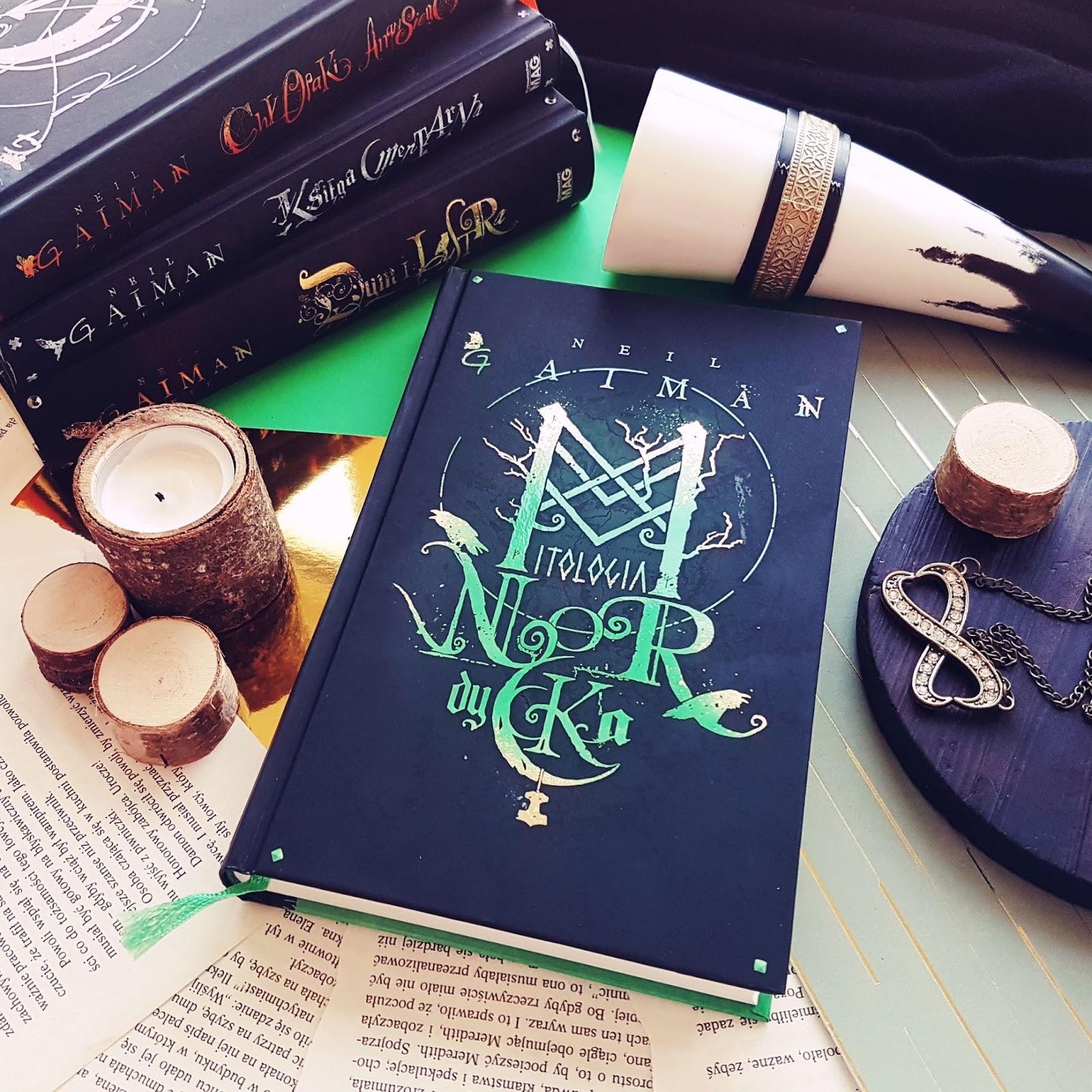 Mitologia nordycka - Neil Gaiman, ludzcy bogowie z Asgardu