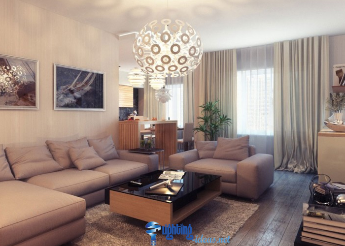 Living Room Lamp Shade - Home Design