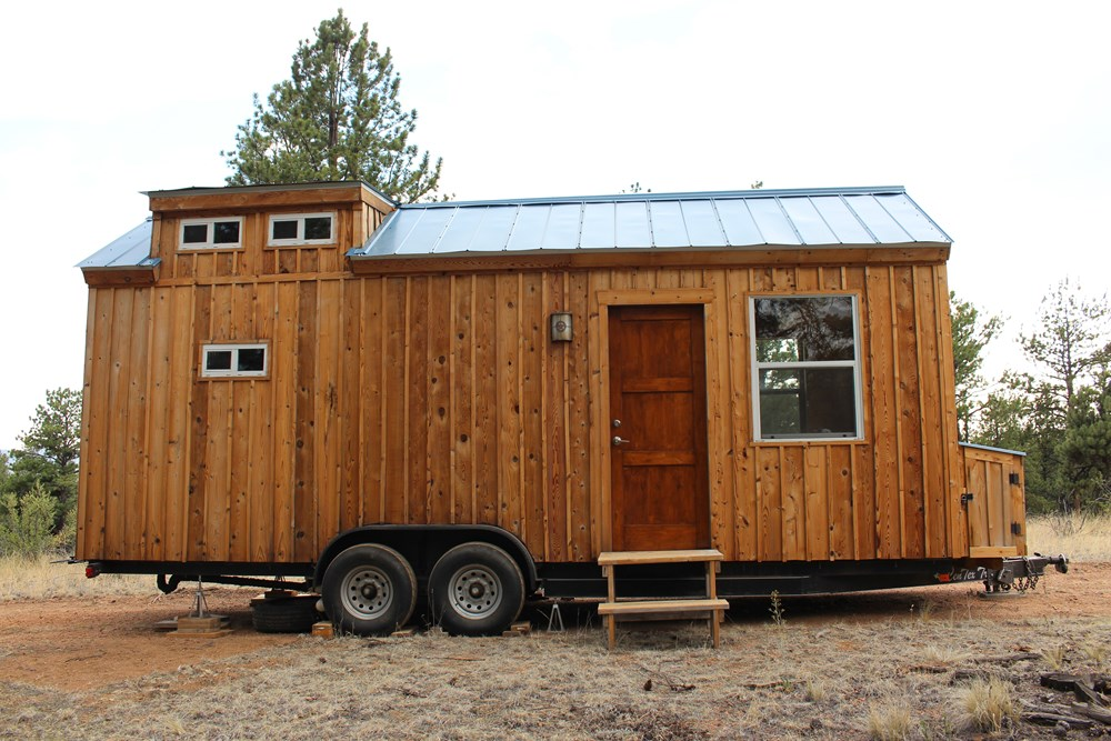 Tiny Home Designs: TINY HOUSE TOWN: Florissant Tiny House (240 Sq Ft